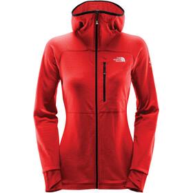 The North Face L2 Proprius Fleece Hoodie Jacket Women fiery red